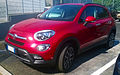 """ 15 - ITALY - Fiat 500X off road Arese - red SUV cool Fashion car 06.jpg"