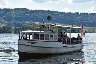 Greifensee - Boat on the Greifensee