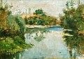 (Albi) Céleyran, au bord de la rivière - Toulouse-Lautrec 1880 MTL.13.jpg