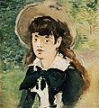 Édouard Manet - Filette sur un banc.jpg
