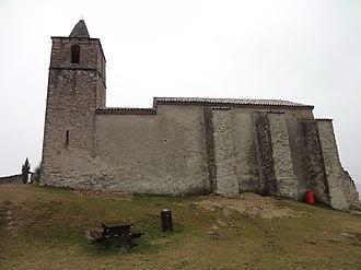 Aiglun, Alpes-de-Haute-Provence - Image: Église Sainte Marie Madeleine d'Aiglun (nord)
