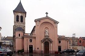 Glise sainte genevi ve d 39 asni res sur seine wikip dia - Rue du chateau asnieres sur seine ...