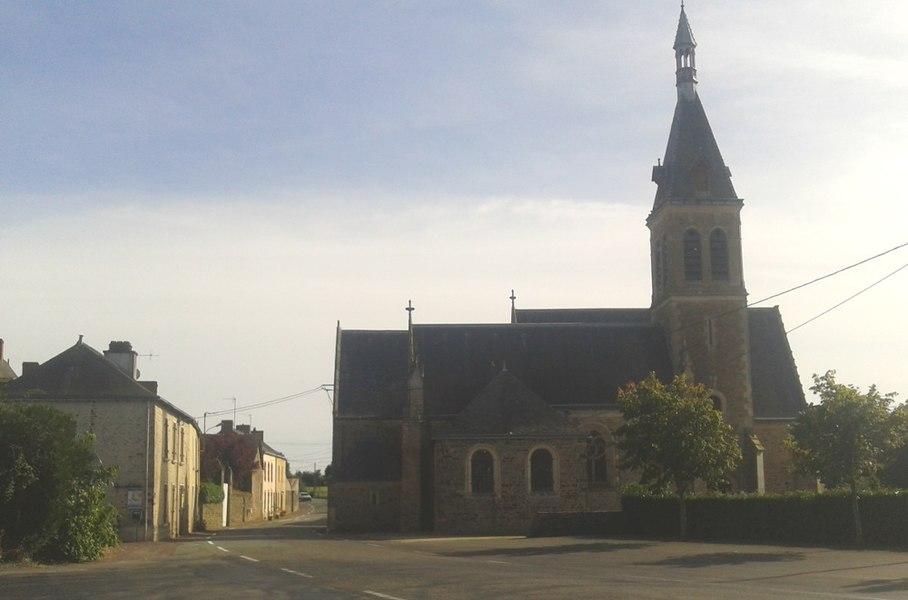 Église Saint-Sixte de La Chapelle-Rainsouin (Inscrit)