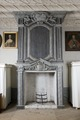 Öppen spis med träfodral. Interiör, detalj. Magdeburg - Skoklosters slott - 86867.tif