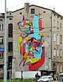 Łódź,ul. Kilińskiego-ul.Pomorska, malowidło przy ul. Kilińskiego zrealizował hiszpański artysta Kenor - panoramio.jpg