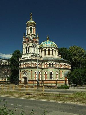 Polish Orthodox Church - Alexander Nevsky Cathedral, Łódź