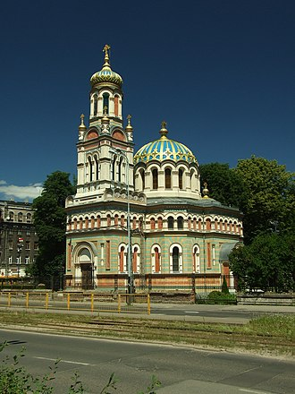 Polish Orthodox Church - Alexander Nevsky Cathedral, Łódź