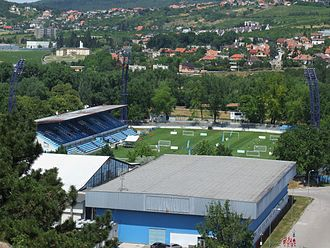 Štadión pod Zoborom - Image: Štadión pod Zoborom Nitra