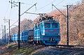 ВЛ40У-1488.1, Украина, Киевская область, перегон Васильков-I - Боярка (Trainpix 152132).jpg