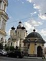 Владимирская церковь и одна из ее часовен. Вид со стороны владимирской пл..jpg
