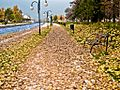Есен на кејот во Гостивар.jpg