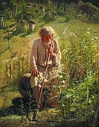Iwan Nikolajewitsch Kramskoi: Beekeeper