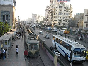 Trams in Greater Cairo - Cairo Tram