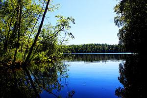 Solovetsky District - Lake on Solovetsky Island