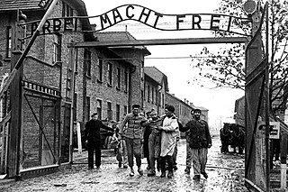 Liberation of Auschwitz concentration camp World War II action