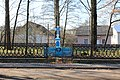 Пам'ятний хрест на честь скасування кріпацтва, 1848 р. (Цінева, центр села).jpg