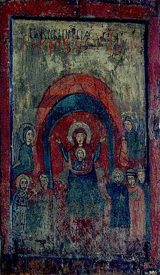 National Art Museum of Ukraine - Image: Покрова. ХІІ ХІІІ ст