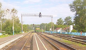 Pichayevsky District - Vernadovka Station, Syzran-Vyazma railway.