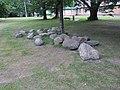 Столін. Камяні з-пад алтарнай часткі касцёла (01).jpg