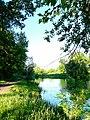С тропы у первого пруда в Петропавловском парке Ярославля - panoramio.jpg