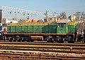 ТЭМ2-1428, Литва, Вильнюс, Вильнюсское локомотивное ремонтное депо (Trainpix 159890).jpg