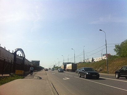 How to get to Трикотажный Проезд with public transit - About the place