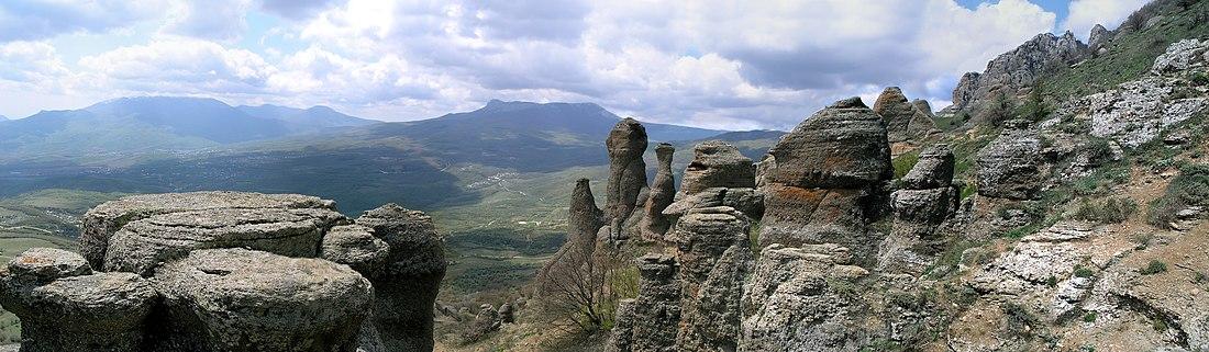 долина привидений демерджи фото