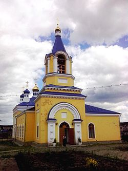 Church of the Ascension, Gospodnya, Beloyarsky District