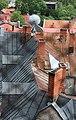 Цесис (Латвия) Вид с колокольни Собора Святого Иакова на центр города - panoramio.jpg