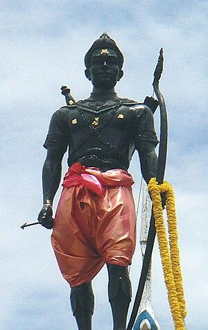 Si Inthrathit - Statue of Si Inthrathit, Sawankhalok, Sukhothai