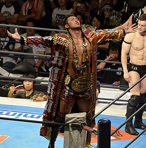"Wrestle Kingdom VI - The show is notable for featuring the NJPW return of Kazuchika Okada and the debut of his ""Rainmaker"" persona"