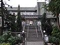 台北市立圖書館南港分館。市民大道側入口。 - panoramio.jpg