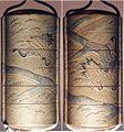 田園鶴蒔絵印籠-Inrō with Cranes in Rice Fields MET 81.1.320.jpg
