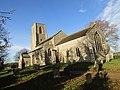 -2018-12-10 South elevation, Saint Margaret of Antioch parish church, Suffield, Norfolk (1).JPG