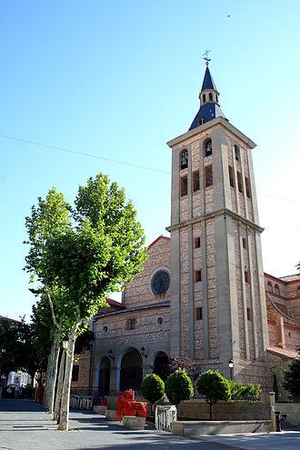 Campo de Criptana - Iglesia de Nuestra Señora de la Asunción