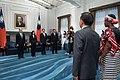 09.19 總統接受布吉納法索新任駐華特命全權大使尚娜呈遞到任國書 (36482015474).jpg