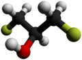 1,3-Difluoro-2-propanol-3D-balls-by-AHRLS-2012.png