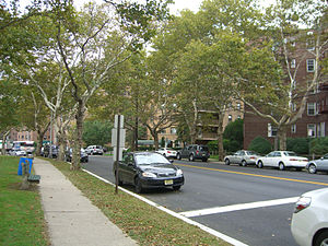 Woodcliff, North Bergen - Residences along Boulevard East in Woodcliff.