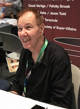 Gerry Conway - Conway at the New York Comic Con