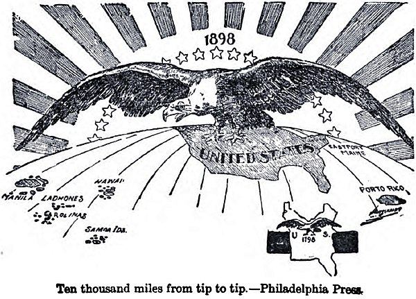 the pros and cons of american imperialism and the efforts against it It stated that further efforts by european nations to colonize land or interfere with concept map - american imperialism revolts against foreign interests.