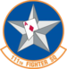 111th Fighter Squadron emblem