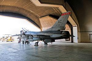 119th Fighter Squadron - Image: 119th Fighter Squadron F 16 Iraq