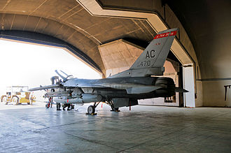 119th Fighter Squadron - Image: 119th Fighter Squadron F 16 Iraq