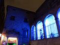 129 Palau Reial Major, plaça de Sant Iu, durant el festival Llum BCN.JPG