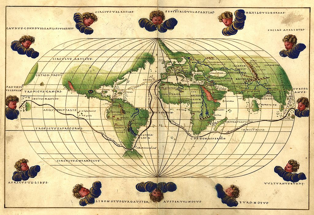 1544 Battista Agnese Worldmap.jpg