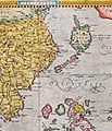 1570-1612 Map of Formosa (Taiwan) and Surrounding Countries by Dutch Flemish 荷屬佛萊明人(今比利時北部)所繪福爾摩沙臺灣.jpg