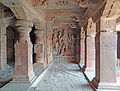 15 Troglodytique Shiva Hindu Temple Badami Karnataka India 2014.jpg