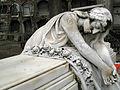 160 Tomba dels germans Marnet i Sacco, escultura de Josep Dalmau.jpg