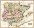 1815 Thomson Map of Spain and Portugal - Geographicus - Spain-t-15.jpg