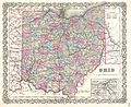 1855 Colton Map of Ohio - Geographicus - Ohio-colton-1855.jpg